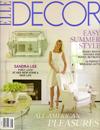 Elle Decor July/August 2012